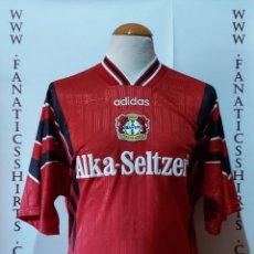 Coleccionismo deportivo: BAYER 04 LEVERKUSEN 1996-1997 HOME CAMISETA FUTBOL ADIDAS. Lote 218207893