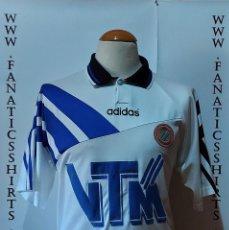 Coleccionismo deportivo: CLUB BRUGGE 1995-1996 AWAY CAMISETA FUTBOL ADIDAS. Lote 218210386
