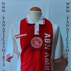 Coleccionismo deportivo: AJAX AMSTERDAM 1994-1995 HOME CAMISETA FUTBOL UMBRO SCHOOL. Lote 218211677