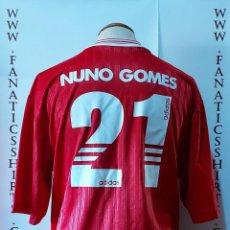 Coleccionismo deportivo: #21 NUNO GOMES BENFICA 1997-1998 HOME CAMISETA FUTBOL ADIDAS. Lote 218212581