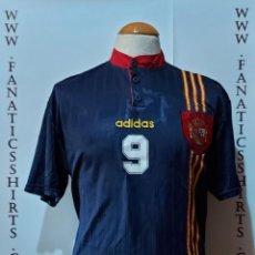 Coleccionismo deportivo: #9 SELECCIÓN ESPAÑA 1996 AWAY CAMISETA FUTBOL ADIDAS. Lote 218266275