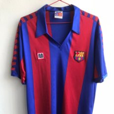 Coleccionismo deportivo: CAMISETA MEYBA FC BARCELONA. Lote 218750340