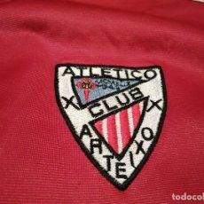Coleccionismo deportivo: # ATLÉTICO CLUB ARTEIXO. CAMISA CHÁNDAL MATCH WORN (EXCLUSIVA TC). Lote 218959926