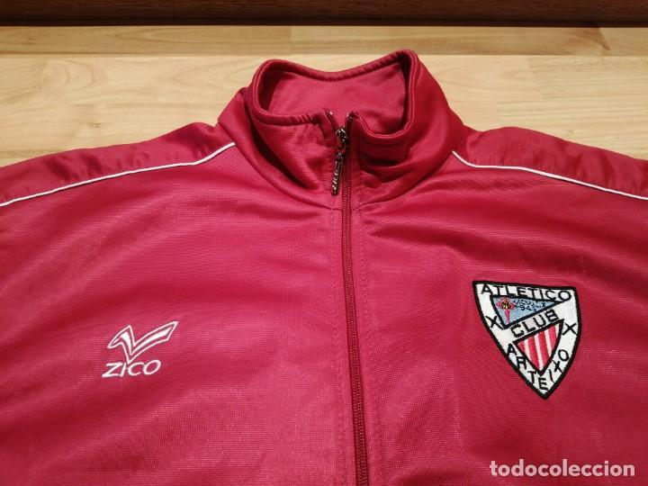 Coleccionismo deportivo: # ATLÉTICO CLUB ARTEIXO. Camisa chándal match worn (Exclusiva TC) - Foto 4 - 218959926
