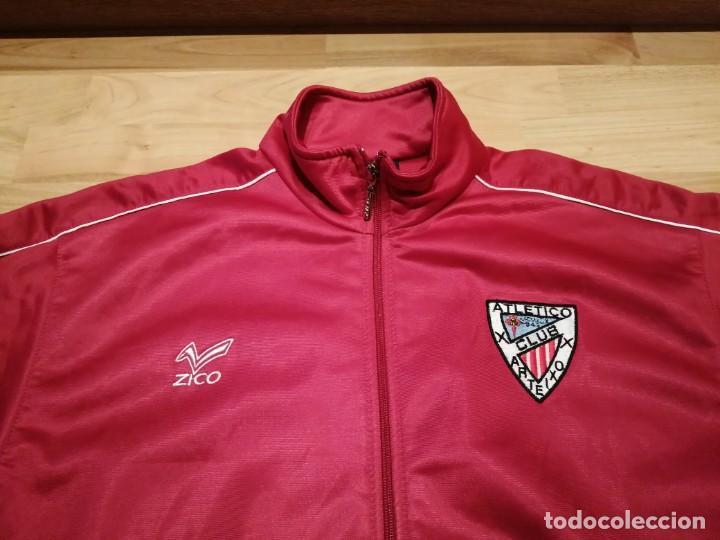 Coleccionismo deportivo: # ATLÉTICO CLUB ARTEIXO. Camisa chándal match worn (Exclusiva TC) - Foto 5 - 218959926