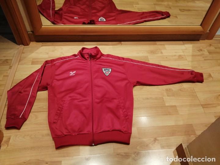 Coleccionismo deportivo: # ATLÉTICO CLUB ARTEIXO. Camisa chándal match worn (Exclusiva TC) - Foto 7 - 218959926
