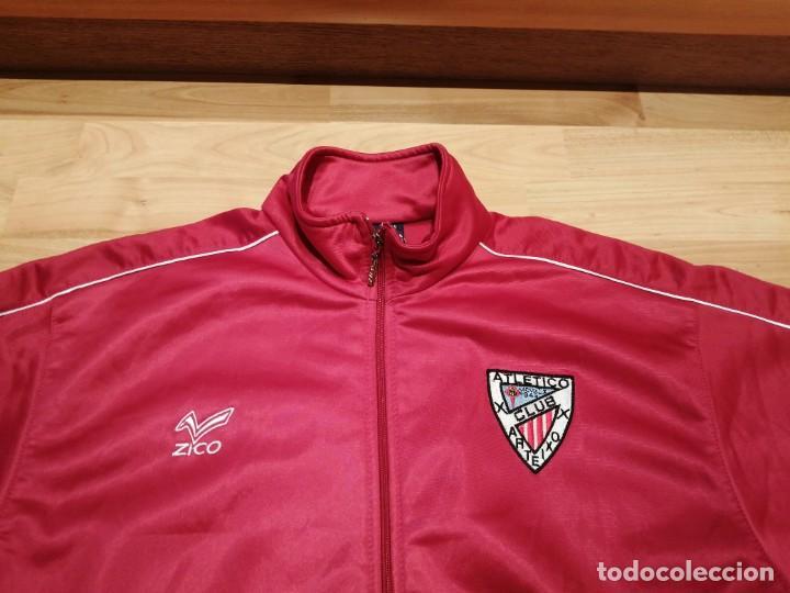 Coleccionismo deportivo: # ATLÉTICO CLUB ARTEIXO. Camisa chándal match worn (Exclusiva TC) - Foto 8 - 218959926