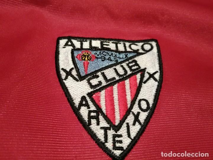 Coleccionismo deportivo: # ATLÉTICO CLUB ARTEIXO. Camisa chándal match worn (Exclusiva TC) - Foto 9 - 218959926