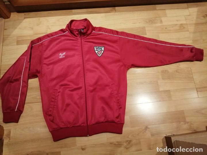 Coleccionismo deportivo: # ATLÉTICO CLUB ARTEIXO. Camisa chándal match worn (Exclusiva TC) - Foto 11 - 218959926
