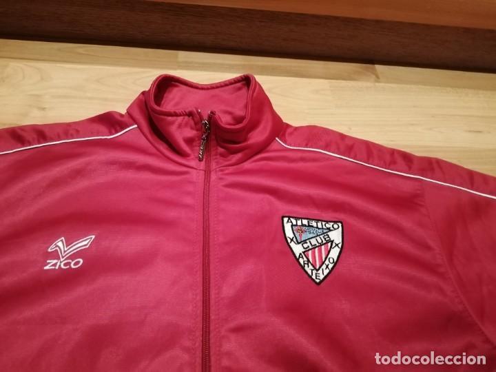 Coleccionismo deportivo: # ATLÉTICO CLUB ARTEIXO. Camisa chándal match worn (Exclusiva TC) - Foto 12 - 218959926