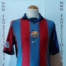 Coleccionismo deportivo: F.C BARCELONA 2001-2002 HOME (L) CAMISETA FUTBOL NIKE. Lote 218961972