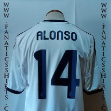 Coleccionismo deportivo: #14 ALONSO REAL MADRID 12-13 PAQUETE UCL FUNDA NEW ADIDAS. Lote 218968920