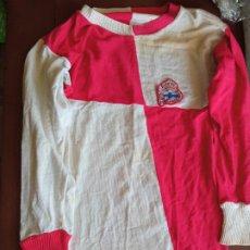 Coleccionismo deportivo: VERY RARE VINTAGE 1970 DEPORTIVO DE LA CORUÑA CE SABADELL CD RETRO S FOOTBALL SHIRT CAMISETA FUTBOL. Lote 219959452