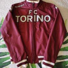 Coleccionismo deportivo: CHAQUETA PIEL FÚTBOL TURÍN VINTAGE FC TORINO ITALY CALCIO KAPPA LEATHER JACKET ITALIA. Lote 220952077