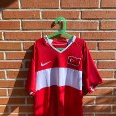 Coleccionismo deportivo: CAMISETA FÚTBOL ORIGINAL/OFICIAL TURQUÍA 2008-2009. Lote 221557720