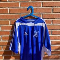 Coleccionismo deportivo: CAMISETA FÚTBOL ORIGINAL/OFICIAL GRECIA 2004. Lote 221557847