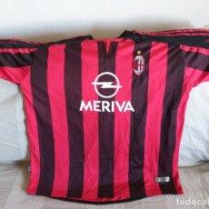 Coleccionismo deportivo: CAMISETA DEL MILAN MERIVA. Lote 221628942