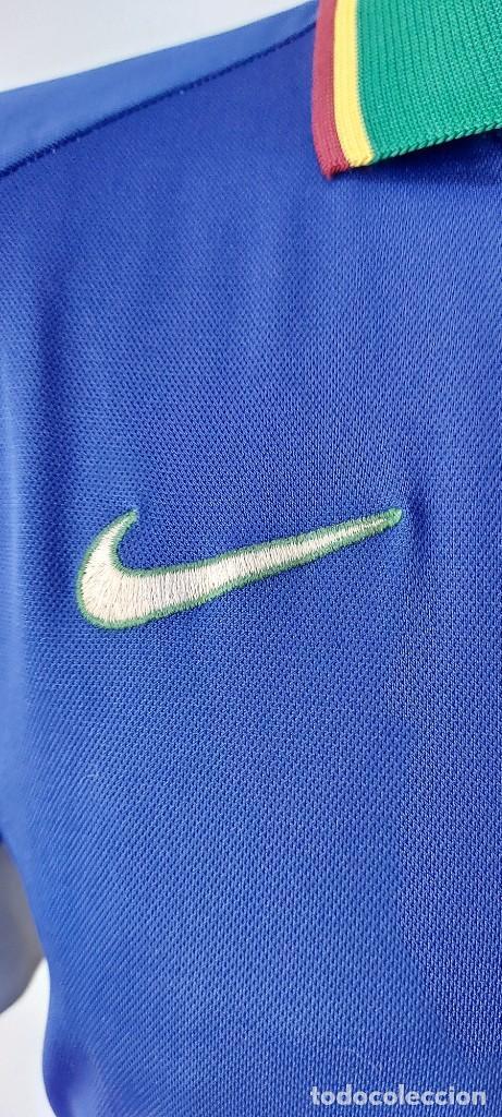 Coleccionismo deportivo: Seleccion Portugal 1997 Away Camiseta Futbol Nike - Foto 3 - 222074272