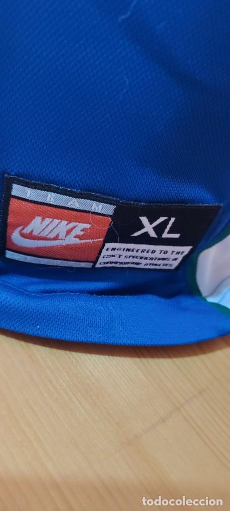 Coleccionismo deportivo: Seleccion Portugal 1997 Away Camiseta Futbol Nike - Foto 4 - 222074272