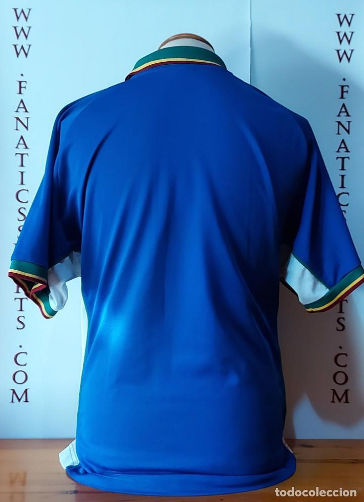 Coleccionismo deportivo: Seleccion Portugal 1997 Away Camiseta Futbol Nike - Foto 5 - 222074272
