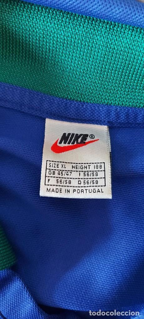 Coleccionismo deportivo: Seleccion Portugal 1997 Away Camiseta Futbol Nike - Foto 6 - 222074272