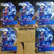 Coleccionismo deportivo: CHAMPIONS 2019 2020 TOPPS CRYSTAL CARDS Nº 122 LIONEL MESSI POR 5 BARCELONA. Lote 246365575