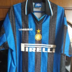 Colecionismo desportivo: INTER MILAN MAGLIA CALCIO CAMISETA FUTBOL FOOTBALL SHIRT XL. Lote 223274952