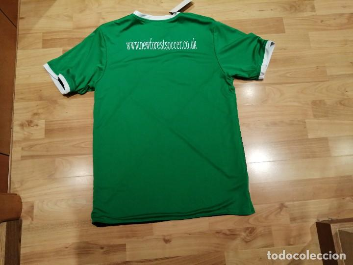 Coleccionismo deportivo: ORIGINAL | FÚTBOL | TALLA M| CAMISETA NEW FOREST SOCCER ACADEMY (INGLATERRA) NUEVA - Foto 17 - 223816593