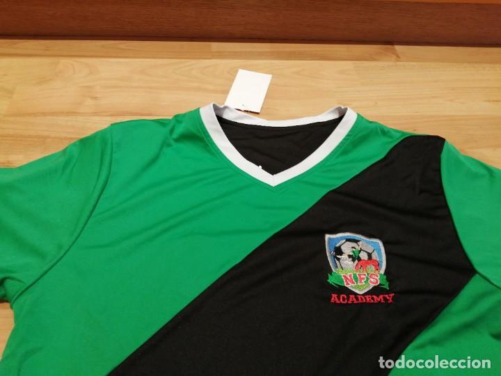 Coleccionismo deportivo: ORIGINAL | FÚTBOL | TALLA M| CAMISETA NEW FOREST SOCCER ACADEMY (INGLATERRA) NUEVA - Foto 19 - 223816593