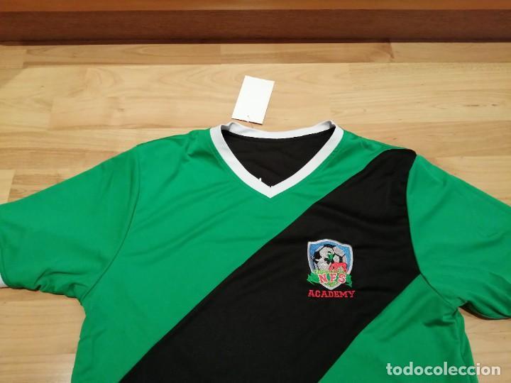 Coleccionismo deportivo: ORIGINAL | FÚTBOL | TALLA M| CAMISETA NEW FOREST SOCCER ACADEMY (INGLATERRA) NUEVA - Foto 22 - 223816593