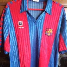 Collezionismo sportivo: MEYBA 1992 FC BARCELONA CAMISETA FUTBOL FOOTBALL SHIRT M SIZE. Lote 224435855
