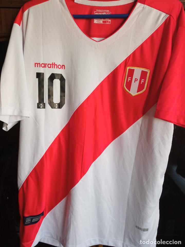 PERU FARFAN L CAMISETA FUTBOL FOOTBALL SHIRT FUSSBALL MAGLIA CALCIO (Coleccionismo Deportivo - Ropa y Complementos - Camisetas de Fútbol)