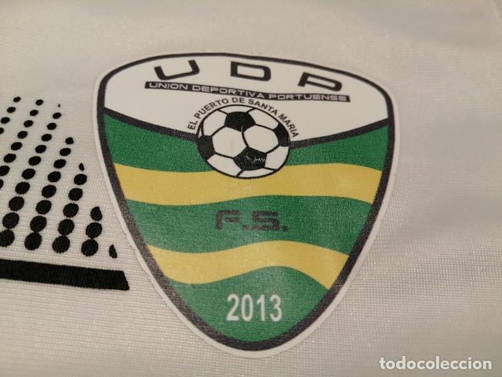Coleccionismo deportivo: ORIGINAL | FÚTBOL | TALLA XS| UD PORTUENSE player worn match worn (Exclusiva TC) - Foto 5 - 224718511