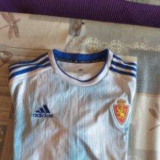 Coleccionismo deportivo: CAMISETA REAL ZARAGOZA AMBAR 0,0. Lote 224720667