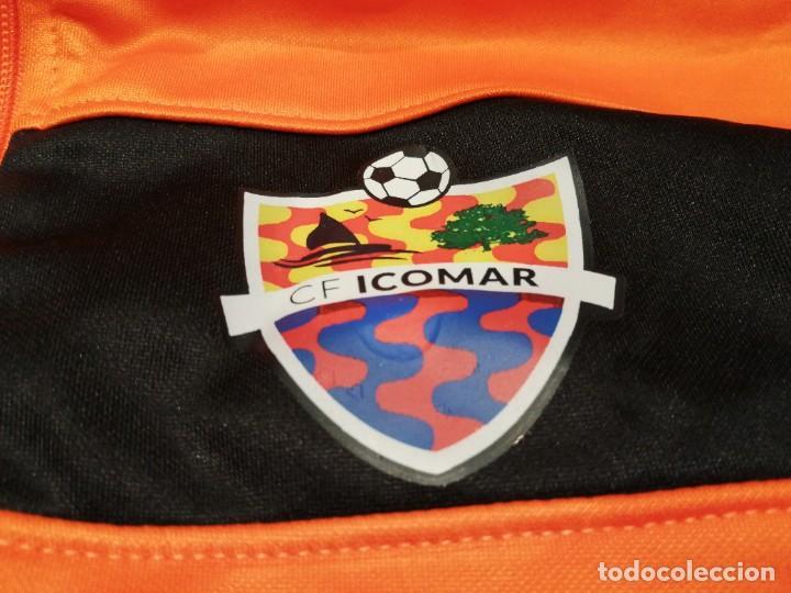 Coleccionismo deportivo: ORIGINAL | FÚTBOL | TALLA S| CF ICOMAR (nueva con etiquetas) Exclusiva TC - Foto 3 - 226116770