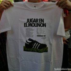 Coleccionismo deportivo: CAMISETA SPORTING GIJON EL MOLINON QUINI FERRERO ASTURIAS ADIDAS VINTAGE. Lote 227208180