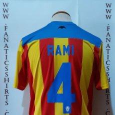 Coleccionismo deportivo: Nº4 RAMI VALENCIA C.F 2013-2014 SENYERA CAMISETA FUTBOL. Lote 175606357