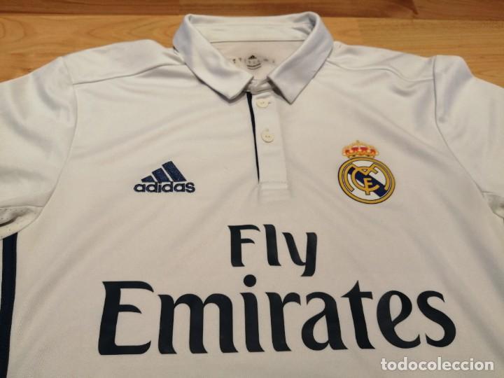 ORIGINAL   FÚTBOL   CAMISETA VINTAGE REAL MADRID CF (PRODUCTO ORIGINAL) (Coleccionismo Deportivo - Ropa y Complementos - Camisetas de Fútbol)