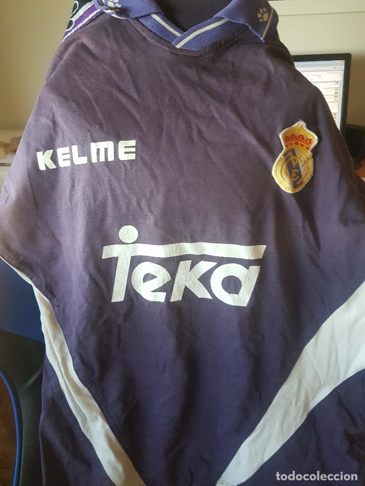 ANTIGUA SUDADERA KELME REAL MADRID (Coleccionismo Deportivo - Ropa y Complementos - Camisetas de Fútbol)
