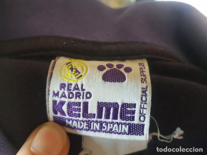 Coleccionismo deportivo: ANTIGUA SUDADERA KELME REAL MADRID - Foto 3 - 274841948