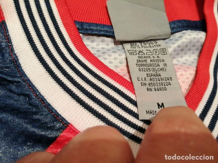Coleccionismo deportivo: ORIGINAL   FÚTBOL   Camiseta vintage VILLAREAL player LÓPEZ VALLEJO match worn - Foto 7 - 228724820