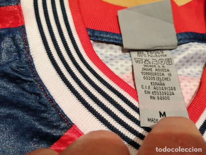 Coleccionismo deportivo: ORIGINAL   FÚTBOL   Camiseta vintage VILLAREAL player LÓPEZ VALLEJO match worn - Foto 9 - 228724820