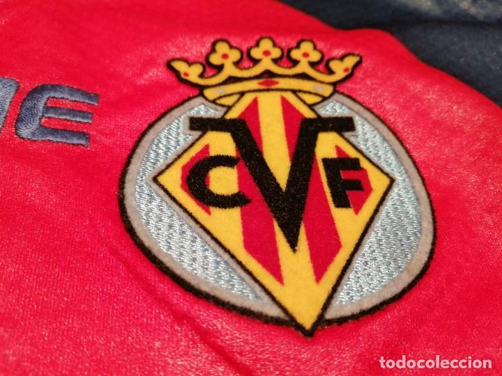Coleccionismo deportivo: ORIGINAL   FÚTBOL   Camiseta vintage VILLAREAL player LÓPEZ VALLEJO match worn - Foto 10 - 228724820
