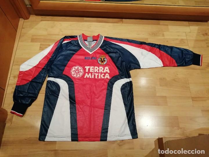 Coleccionismo deportivo: ORIGINAL   FÚTBOL   Camiseta vintage VILLAREAL player LÓPEZ VALLEJO match worn - Foto 22 - 228724820