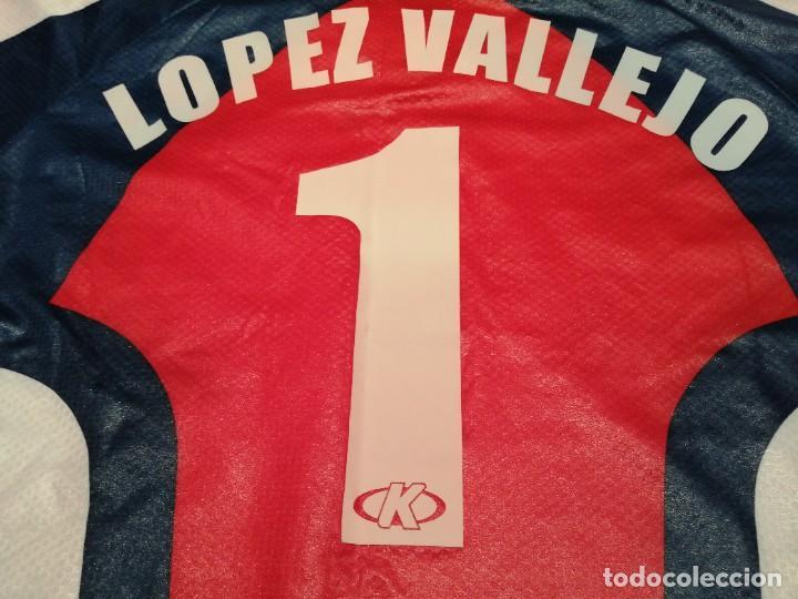 Coleccionismo deportivo: ORIGINAL   FÚTBOL   Camiseta vintage VILLAREAL player LÓPEZ VALLEJO match worn - Foto 33 - 228724820