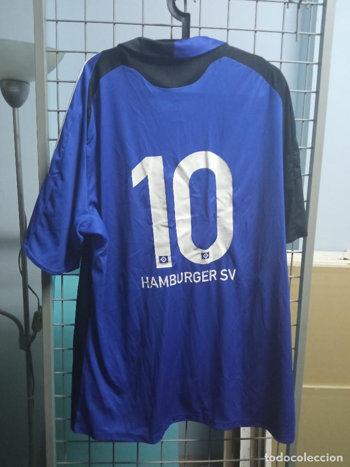 Coleccionismo deportivo: HAMBURGER MATCH WORN XXL GERMANY football camiseta futbol football shirt trikot calcio - Foto 2 - 230576635
