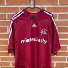 Coleccionismo deportivo: CAMISETA FUTBOL OFICIAL/ORIGINAL NUREMBERG 2007-2008. Lote 231145260