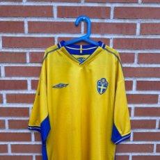 Coleccionismo deportivo: CAMISETA FÚTBOL ORIGINAL/OFICIAL SUECIA 2003-2005. Lote 231147575