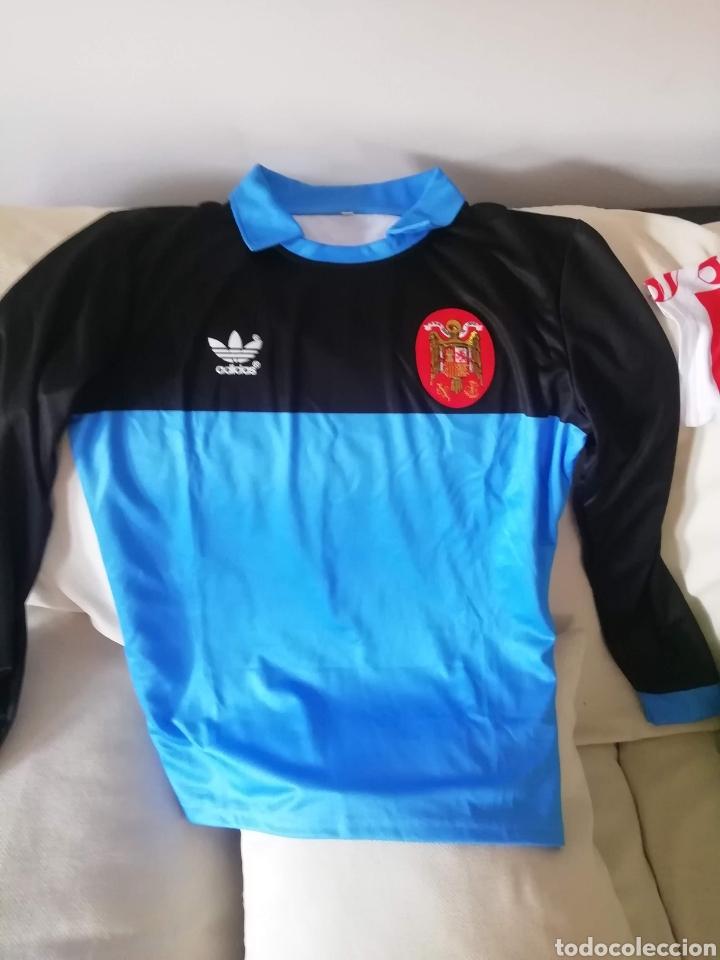 Coleccionismo deportivo: 6 camisetas portero fútbol históricas. LOTE UNICO. - Foto 4 - 235385090