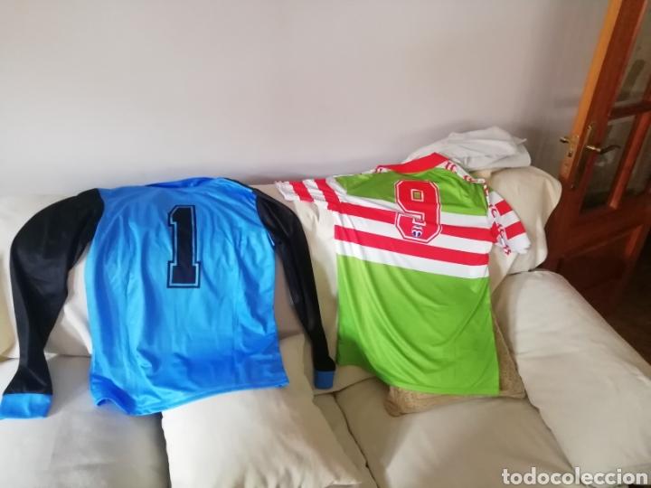 Coleccionismo deportivo: 6 camisetas portero fútbol históricas. LOTE UNICO. - Foto 6 - 235385090